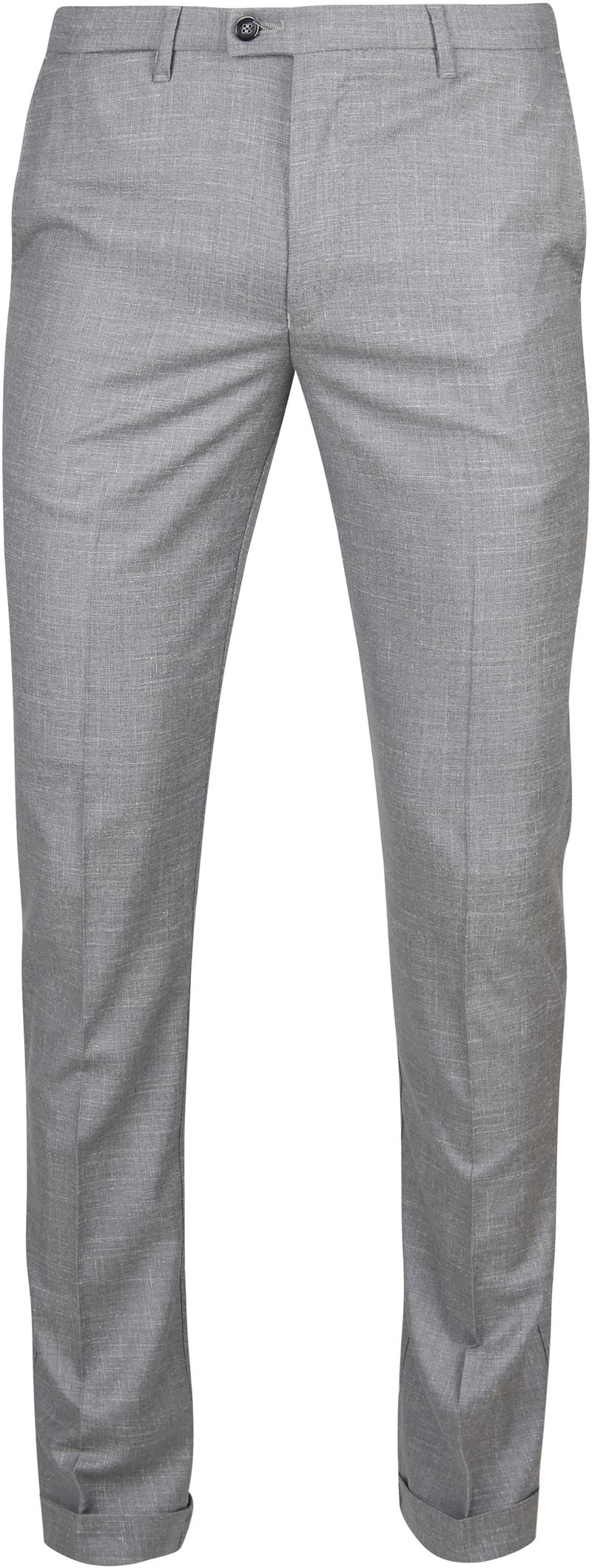 Suitable Pantalon Pisa Melange Grey photo 0