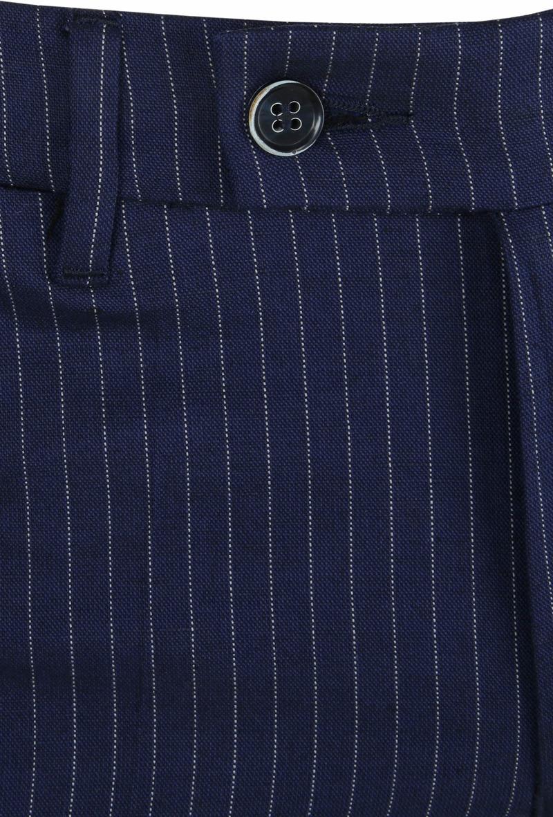 Suitable Pantalon Pisa Strepen Navy