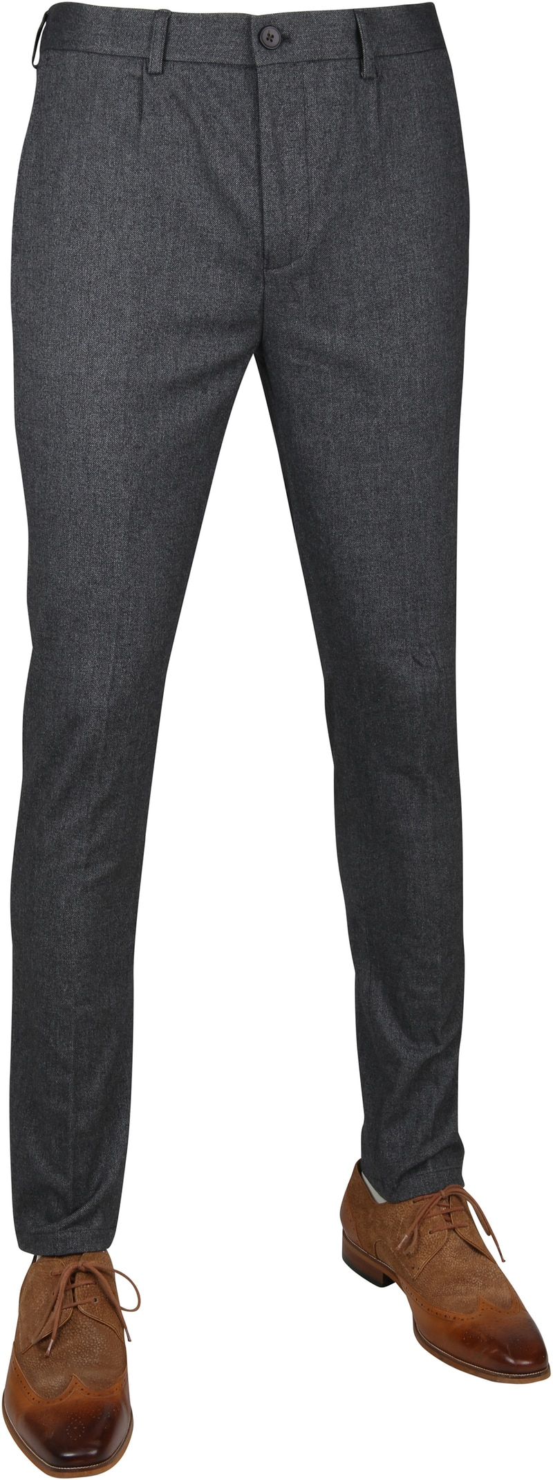 Suitable Pantalon Travis Dark Grey photo 0