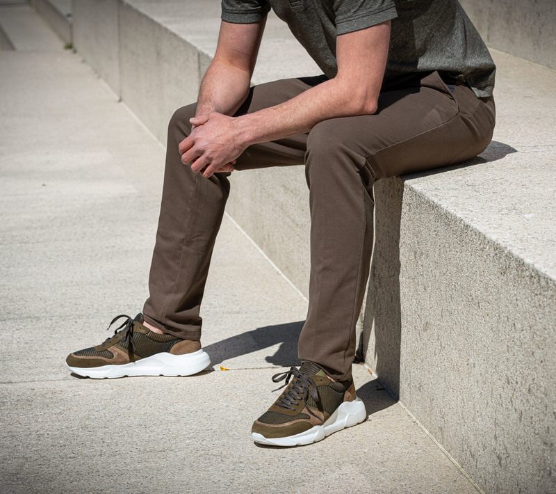 Suitable Pants Enrico Olive photo 4