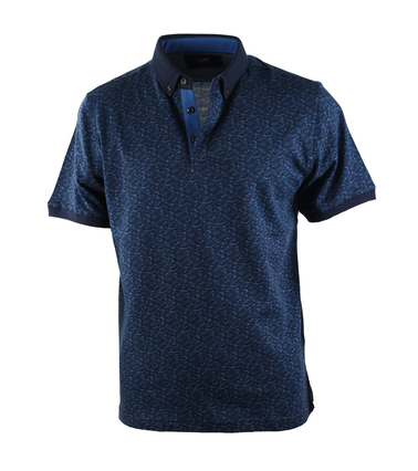 Suitable Polo Blauwe Print  online bestellen | Suitable