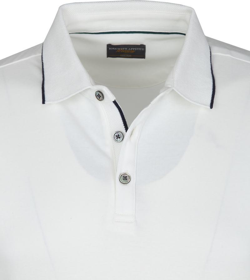 Suitable Polo Liquid Jersey Wit foto 1