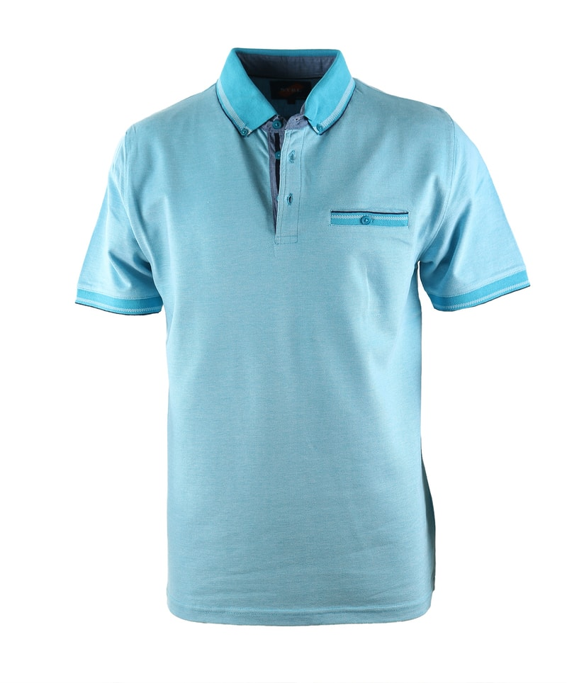 Suitable Polo Oxford Aqua  online bestellen | Suitable
