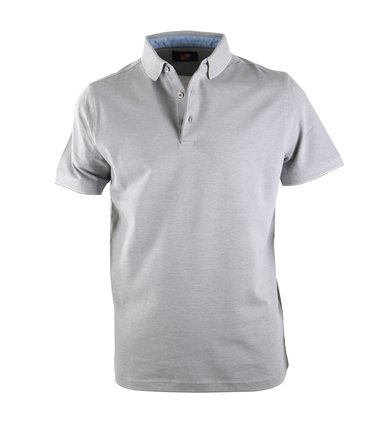 Suitable Polo Oxford Grijs  online bestellen | Suitable