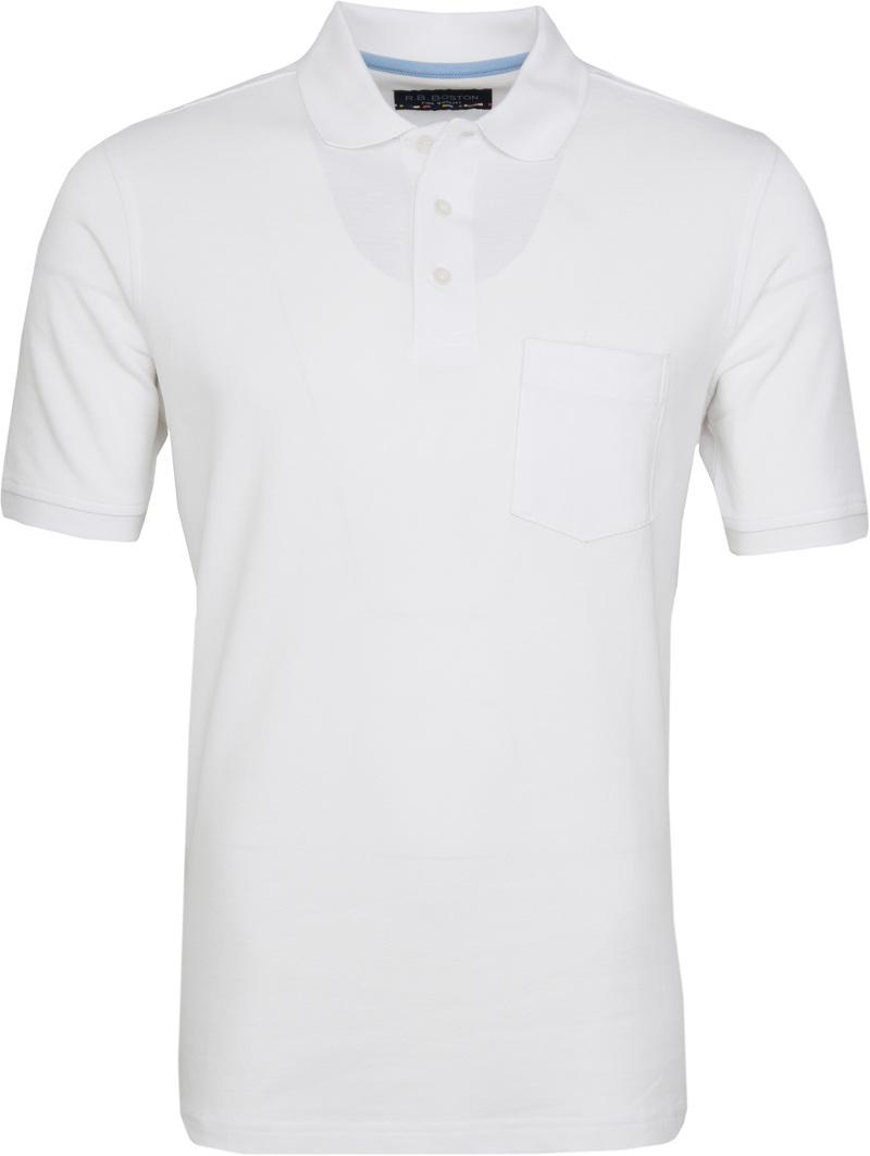 Suitable Poloshirt Boston White photo 0