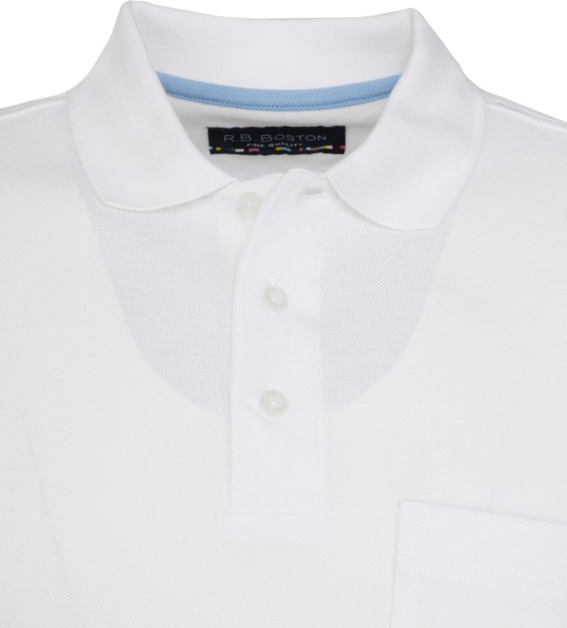 Suitable Poloshirt Boston White photo 1