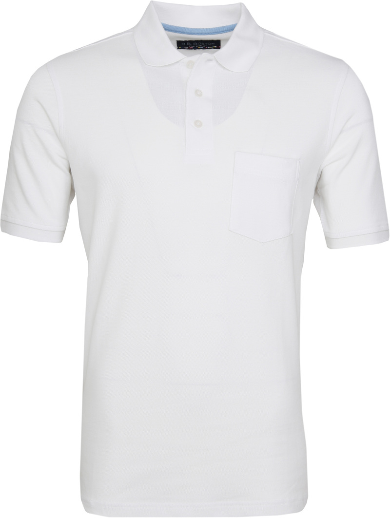Suitable Poloshirt Boston Wit