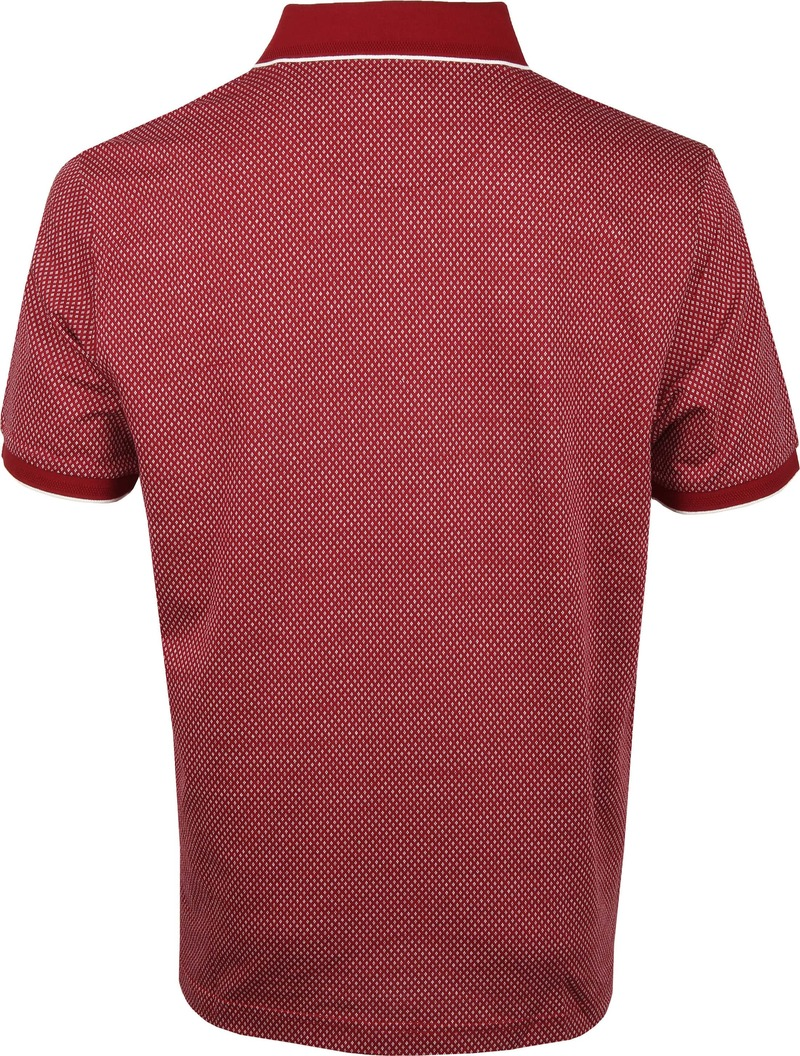 Suitable Poloshirt Jacque Bordeaux - Bordeaux maat L