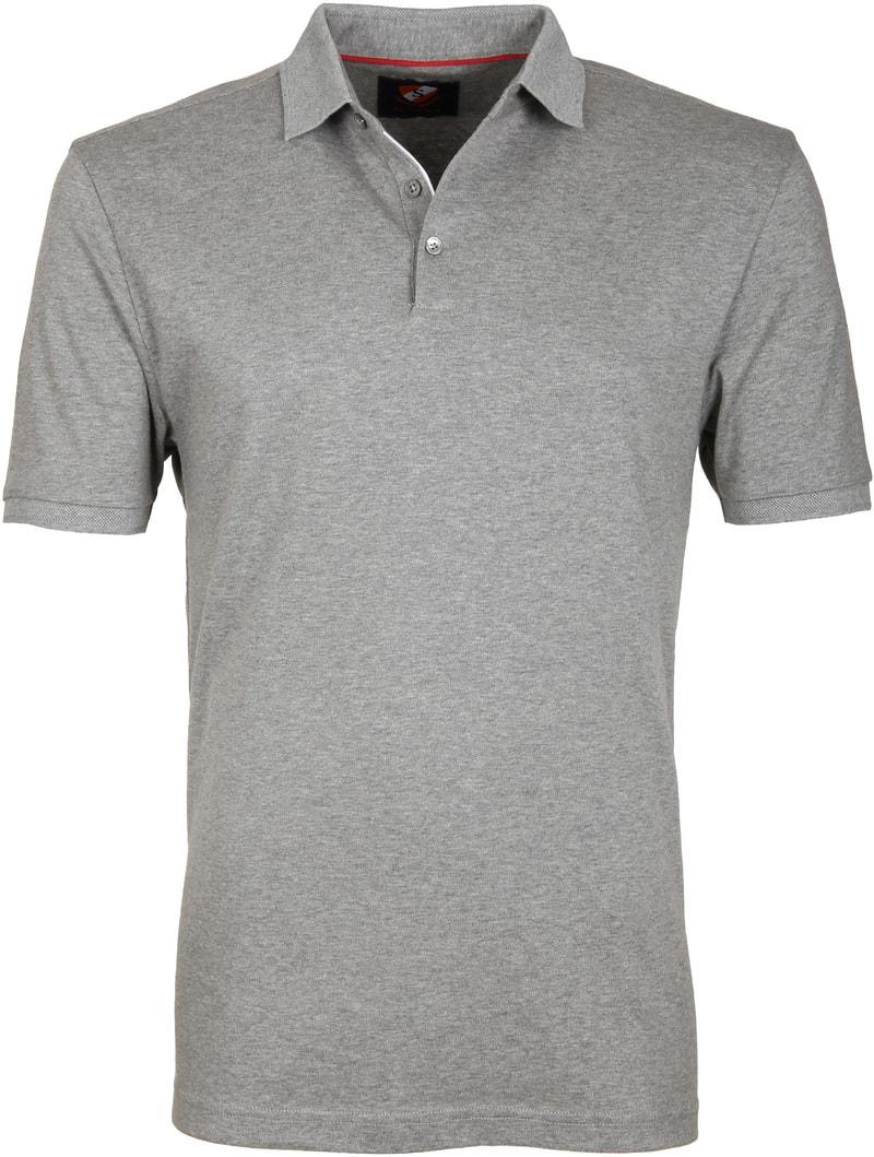 Suitable Poloshirt Liquid Grau Foto 0
