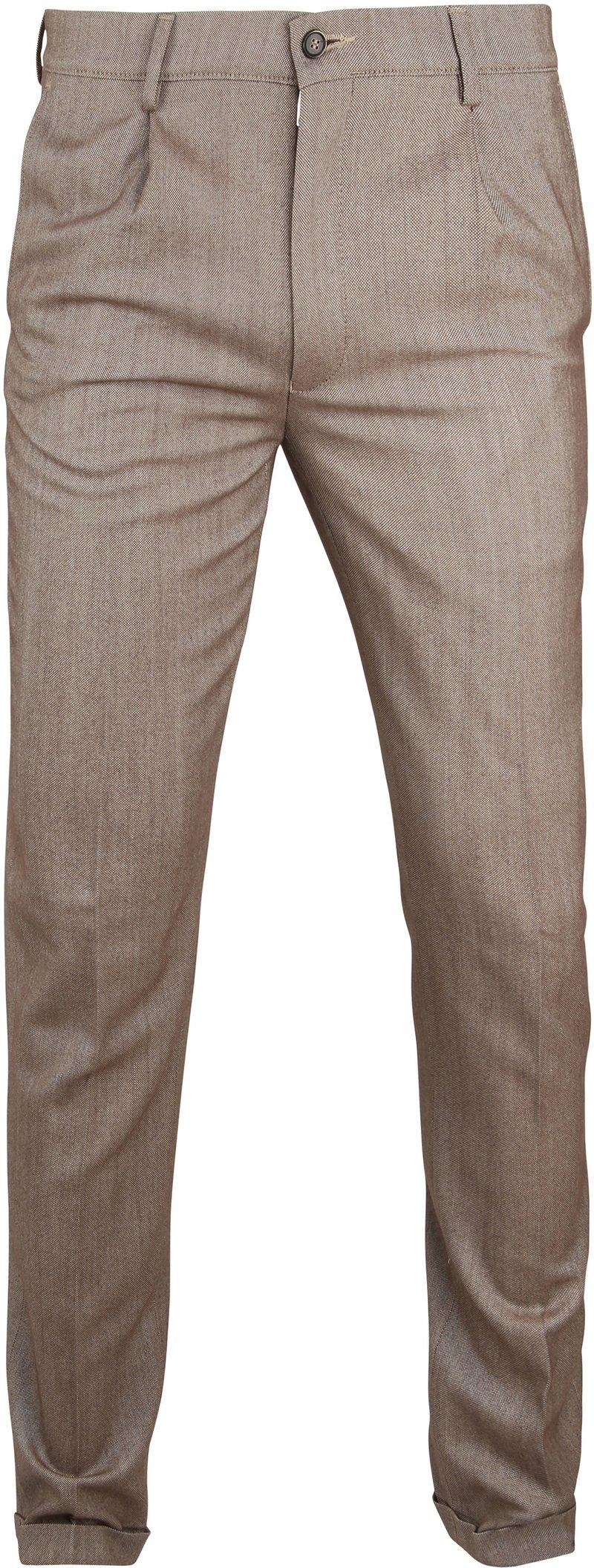Suitable Premium Pantalon Rimini Bruin foto 0