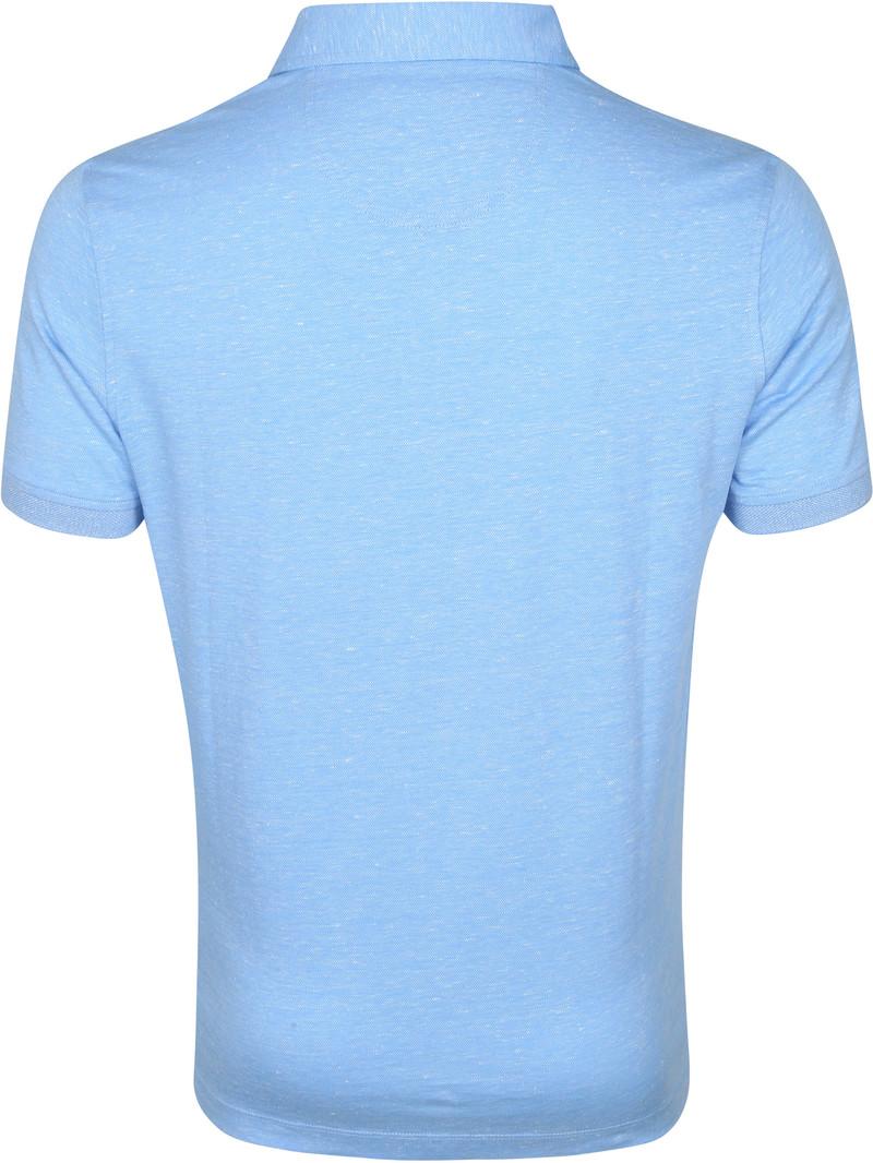 Suitable Prestige Melange Polo Blauw