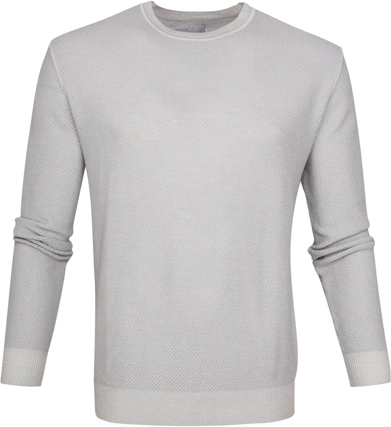 Suitable Prestige Merino Pullover Grijs foto 0