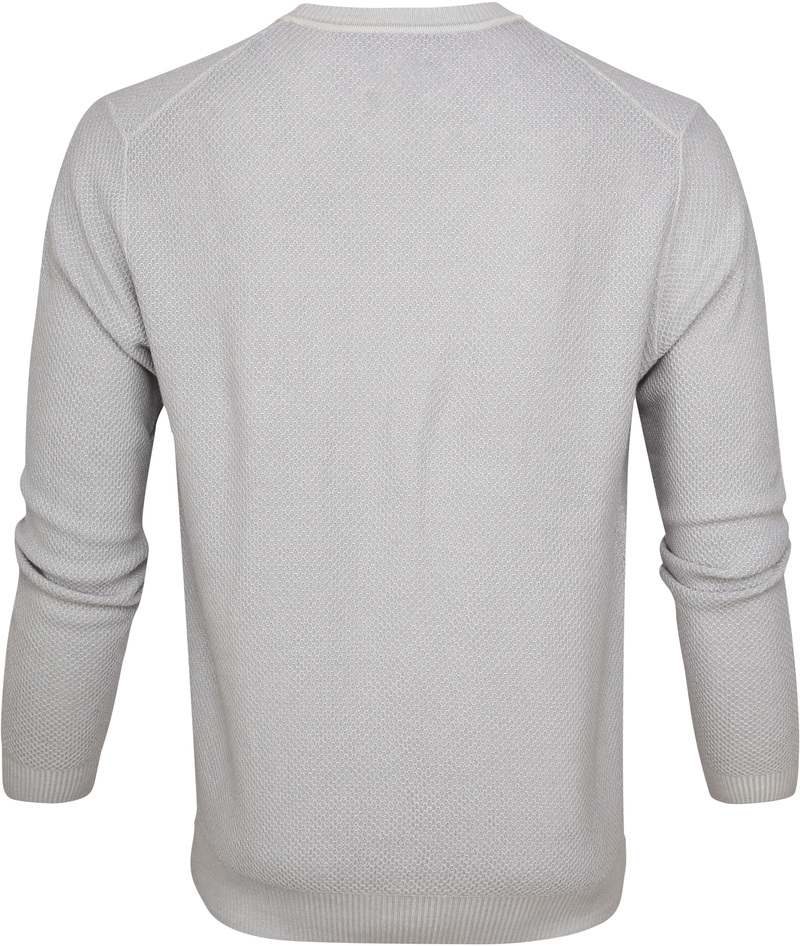 Suitable Prestige Merino Pullover Grijs foto 3