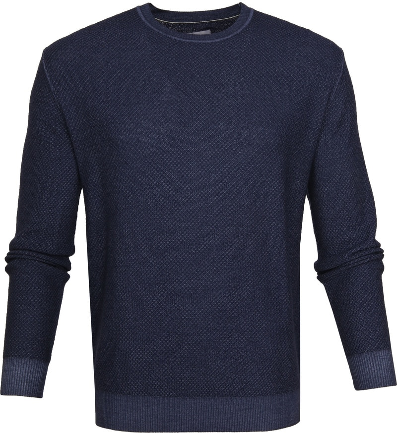 Suitable Prestige Merino Pullover Navy foto 0