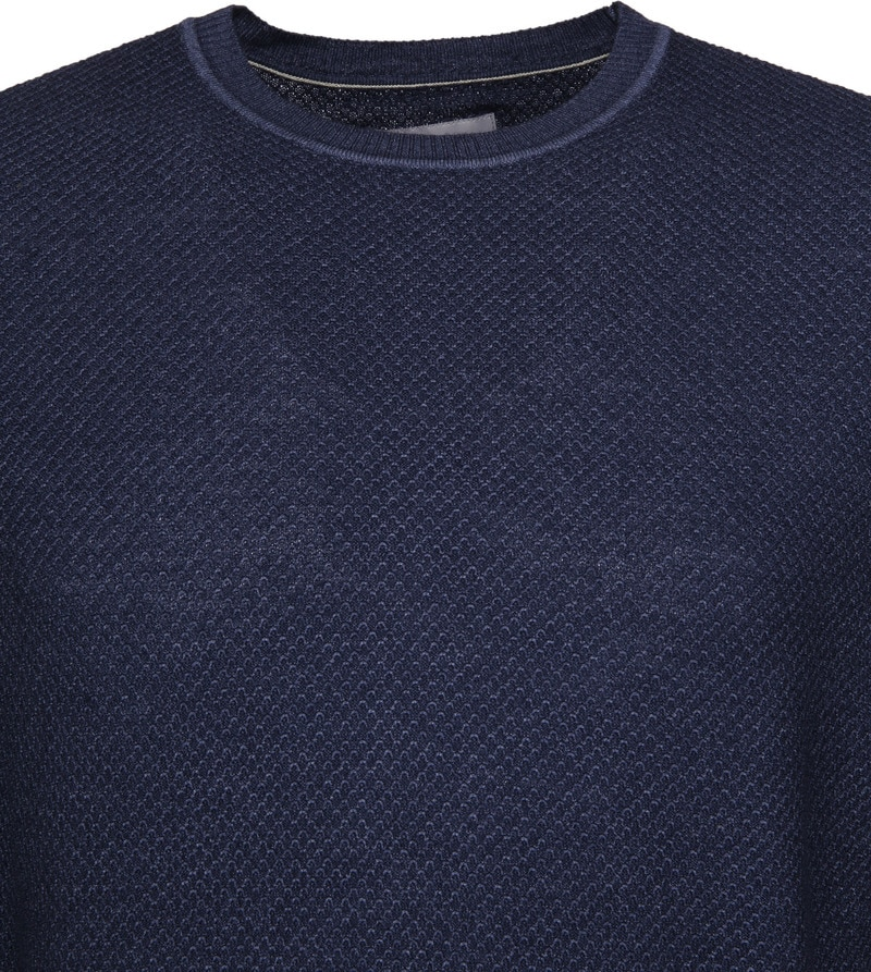 Suitable Prestige Merino Pullover Navy foto 1