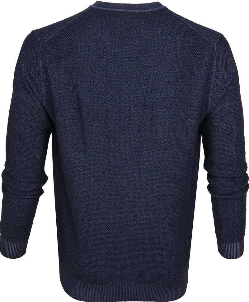 Suitable Prestige Merino Pullover Navy foto 3