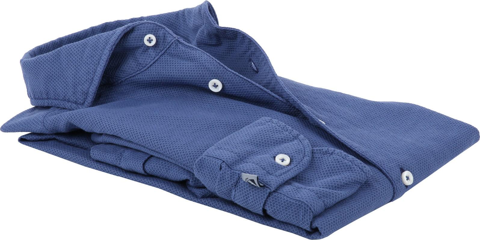 Suitable Prestige Overhemd Blauw foto 3