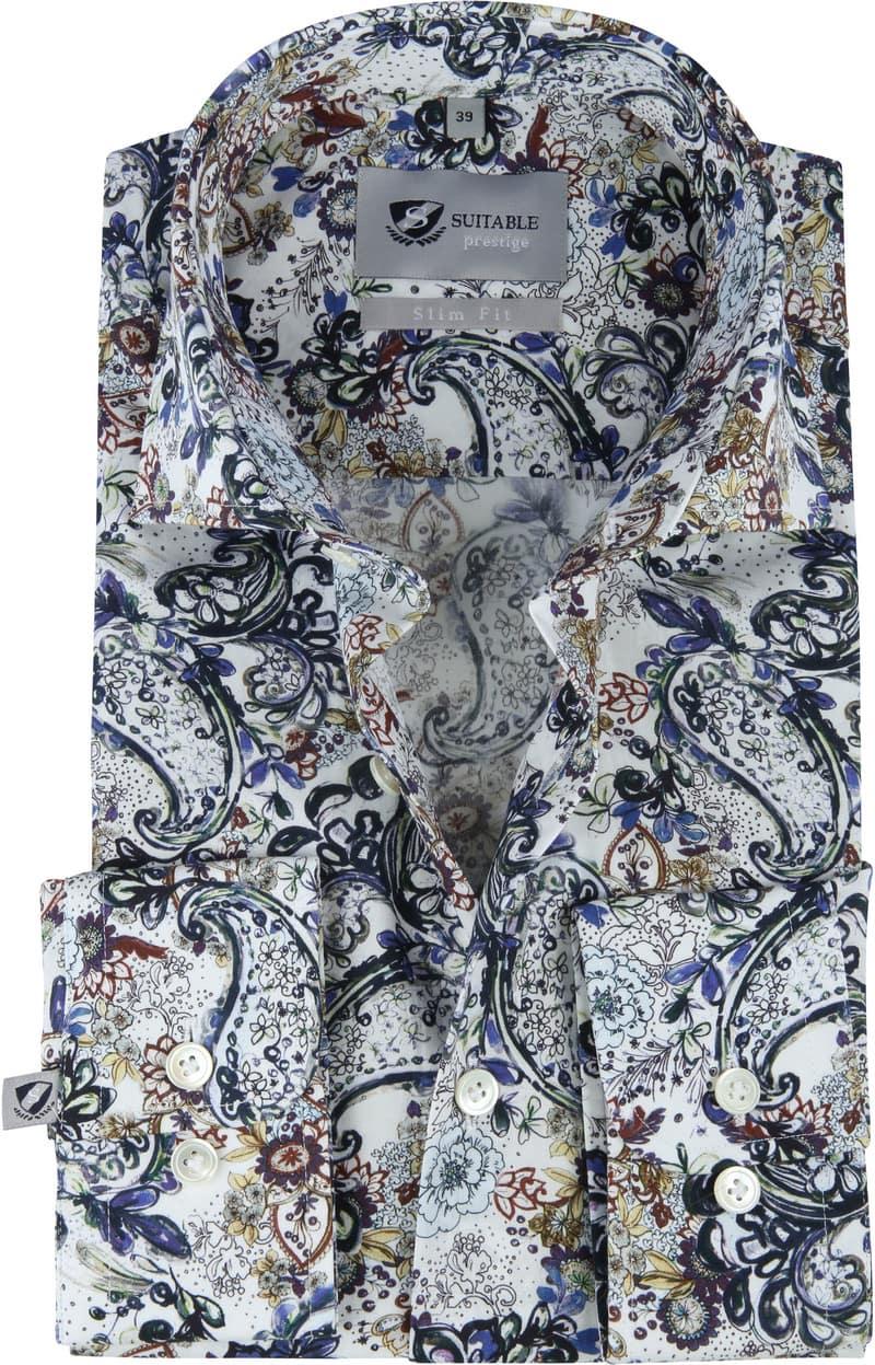 Suitable Prestige Overhemd Bloemen foto 0