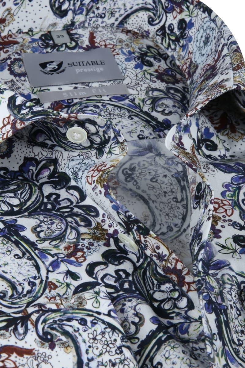 Suitable Prestige Overhemd Bloemen foto 1