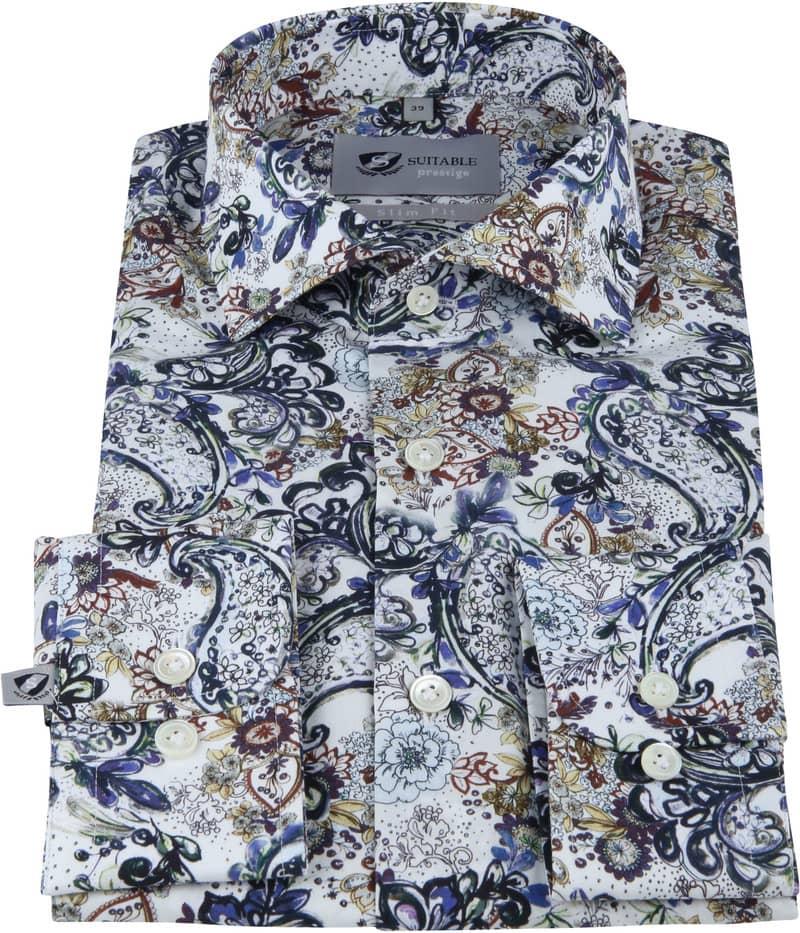 Suitable Prestige Overhemd Bloemen foto 2