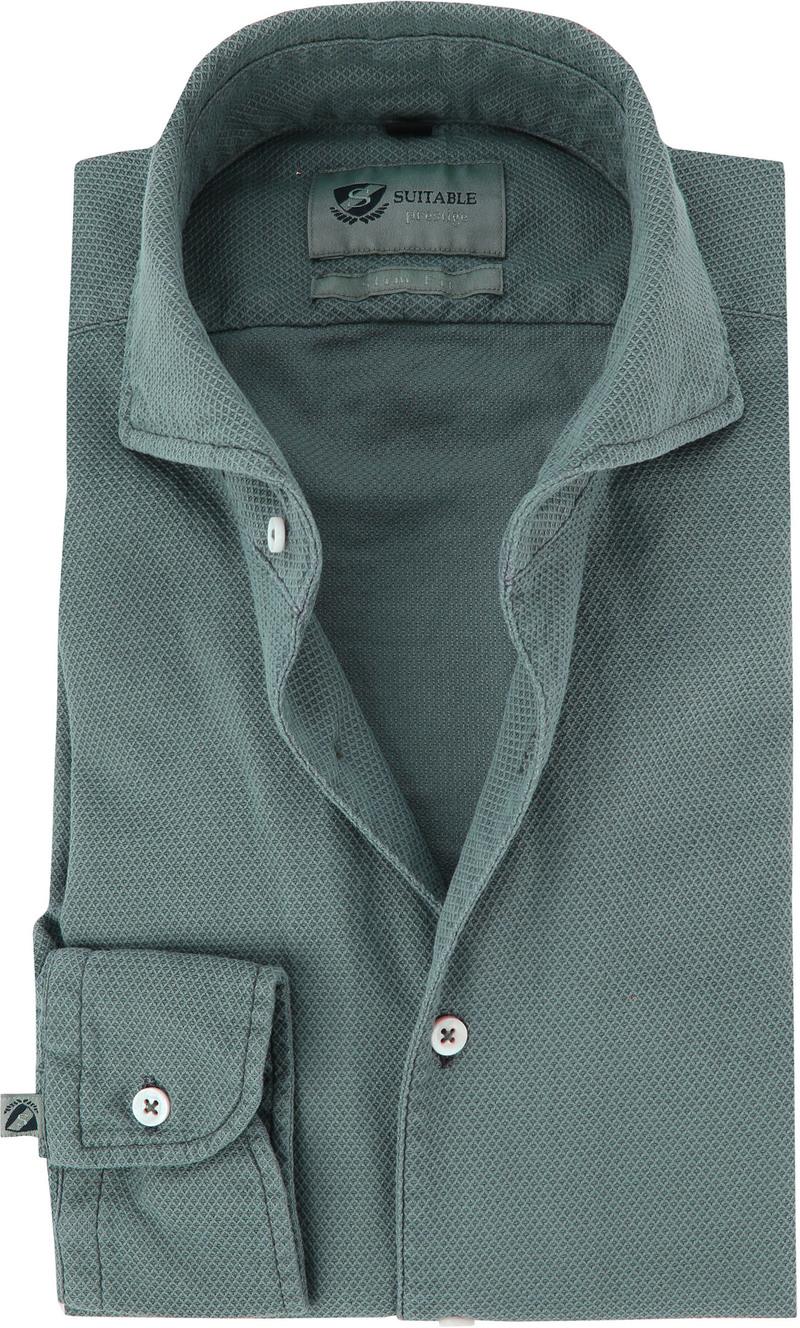 Suitable Prestige Overhemd Groen foto 0