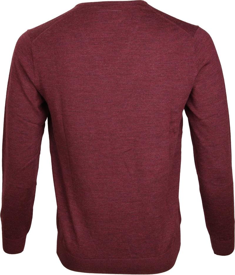 Suitable Prestige Pullover V-hals Bordeaux foto 3
