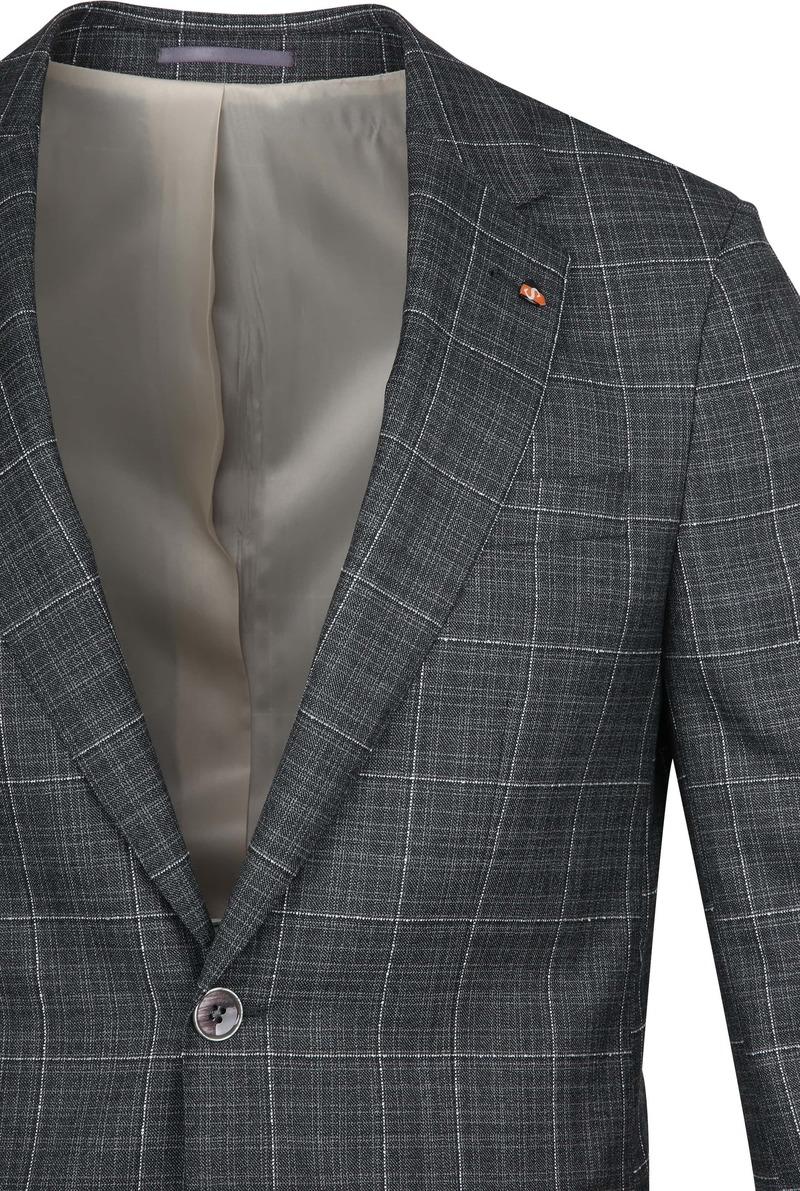 Suitable Prestige Suit Checks Grey photo 2