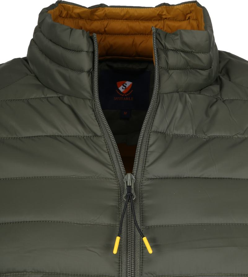 Suitable Puff Jaff Jacket Olive Green photo 1