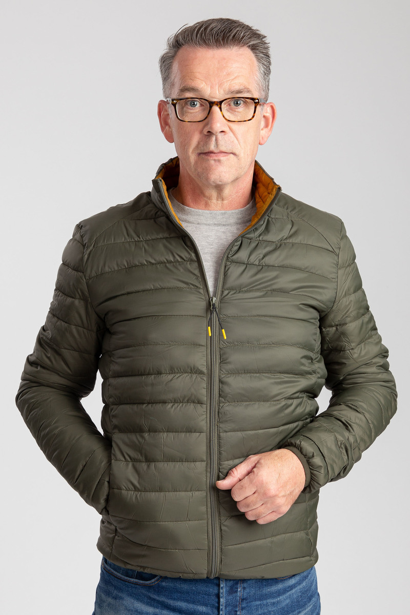 Suitable Puff Jaff Jacket Olive Green photo 6