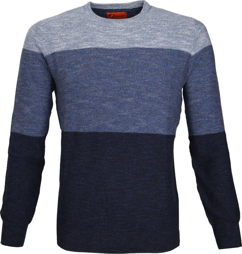 Suitable Pullover Colour Blocks Blau Foto 0
