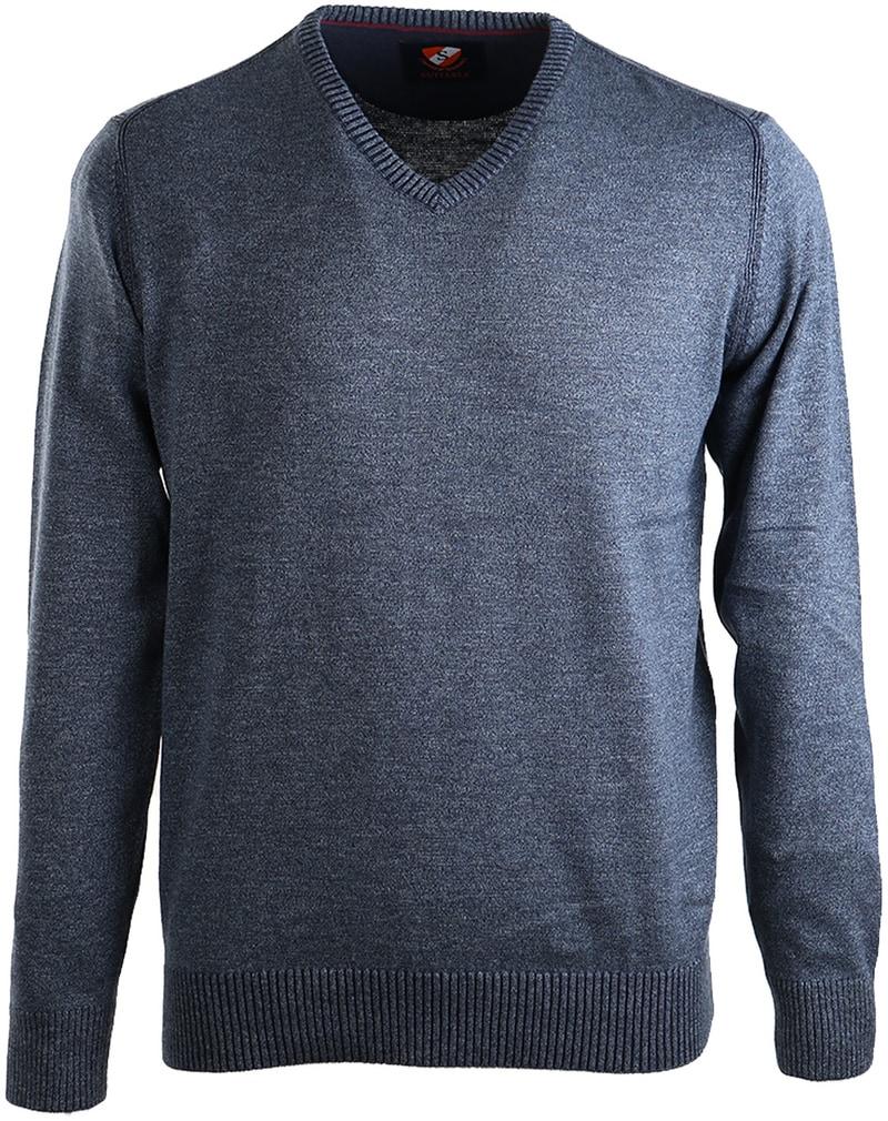 Suitable Pullover Katoen Donkerblauw  online bestellen | Suitable