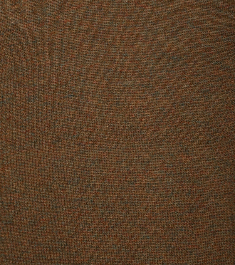Suitable Pullover V-Hals Lamswol Bruin foto 3