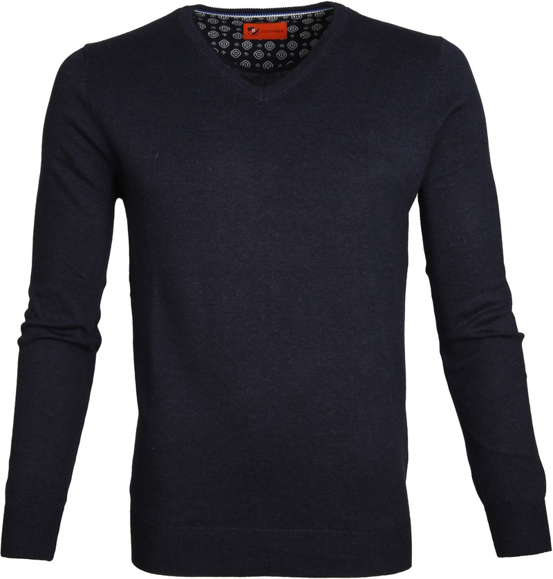 Suitable Pullover Vince Navy photo 0