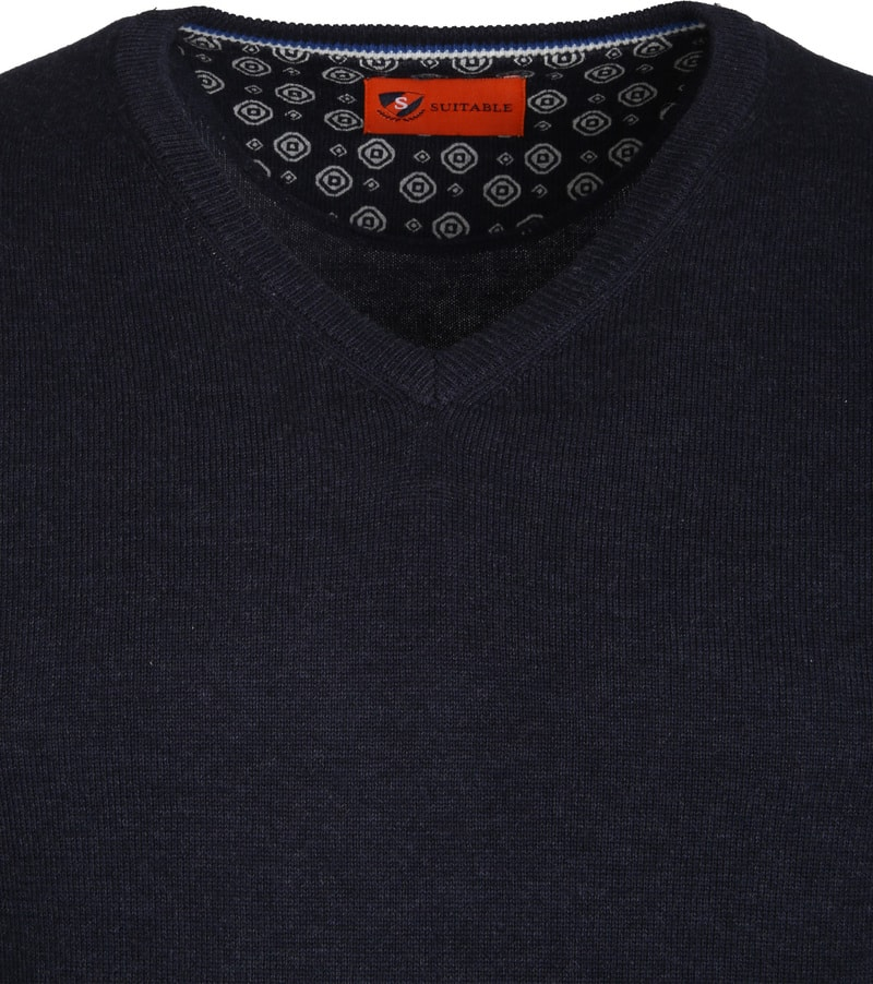 Suitable Pullover Vince Navy photo 1