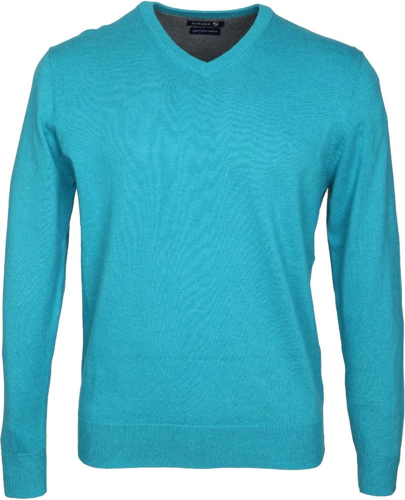 Detail Suitable Pullover Vini Aqua