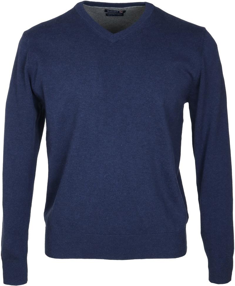 Detail Suitable Pullover Vini Navy
