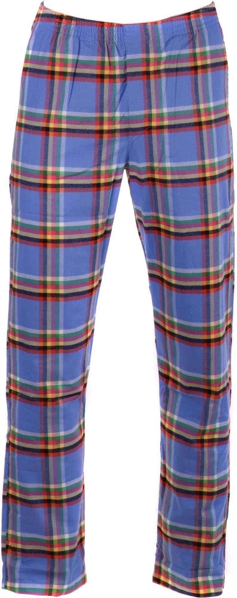 Suitable Pyjamahose Check Blau