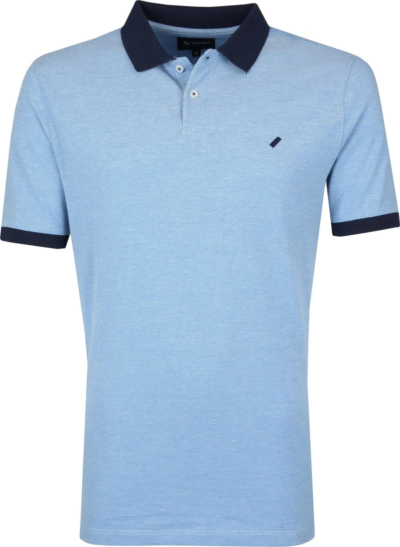 Suitable Respect Claas Poloshirt Blue photo 0