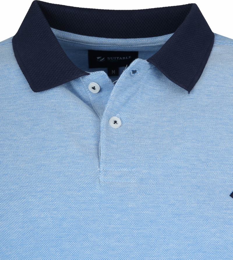 Suitable Respect Claas Poloshirt Blue photo 1