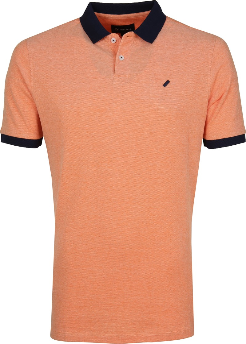 Suitable Respect Claas Poloshirt Orange photo 0