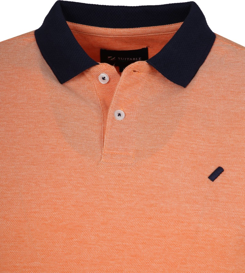 Suitable Respect Claas Poloshirt Orange photo 1