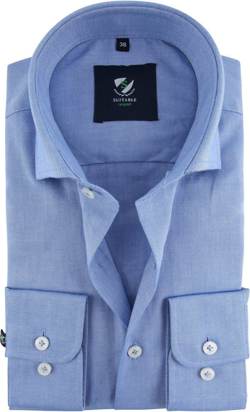 Suitable Respect Overhemd Blauw foto 0