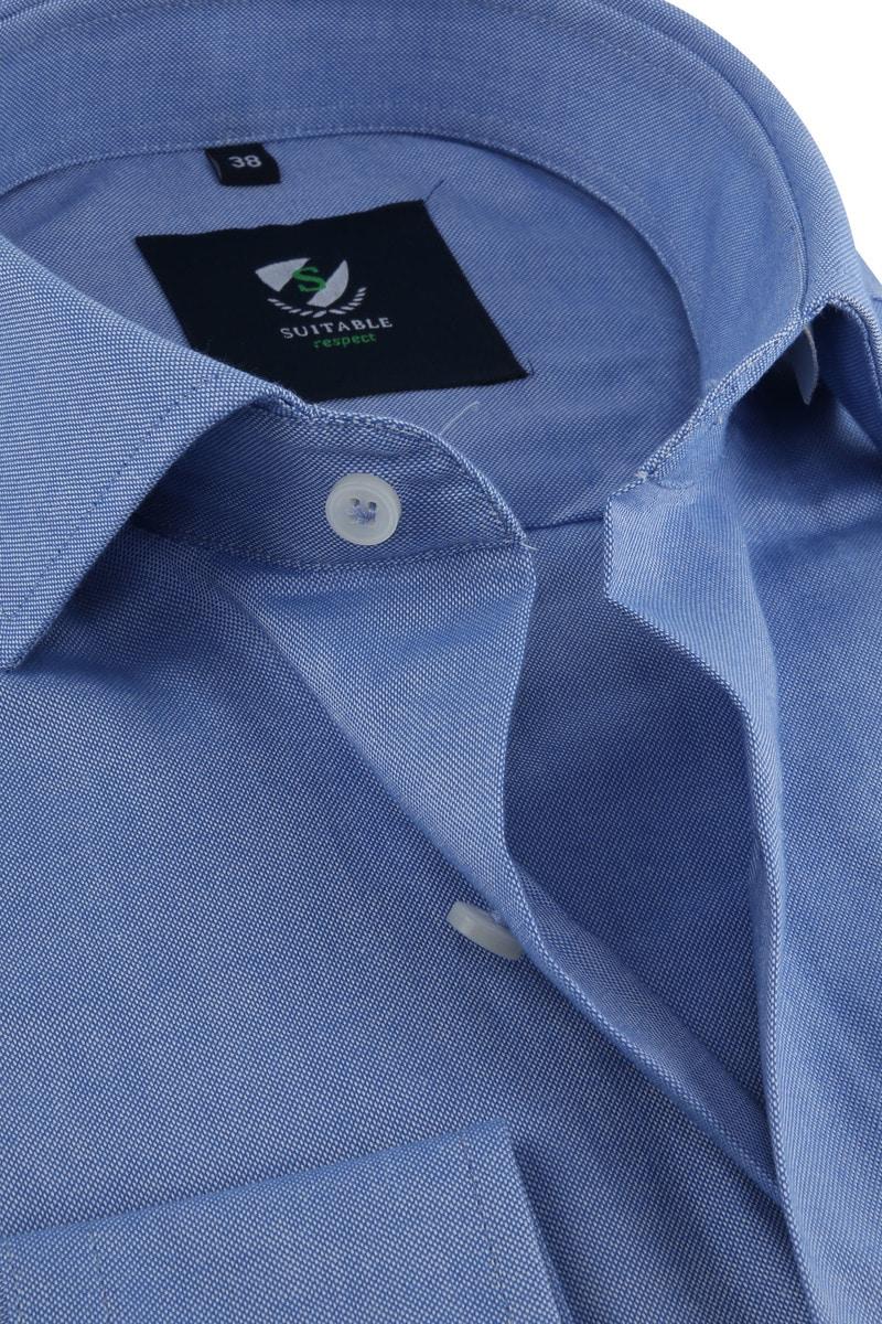 Suitable Respect Overhemd Blauw foto 1
