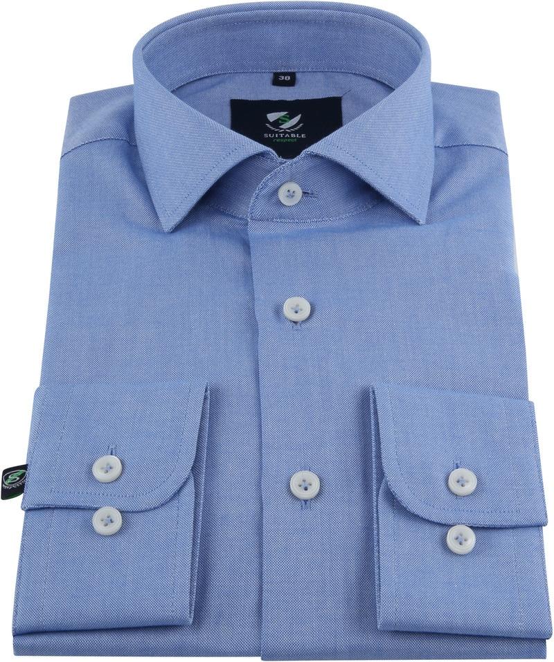 Suitable Respect Overhemd Blauw foto 2