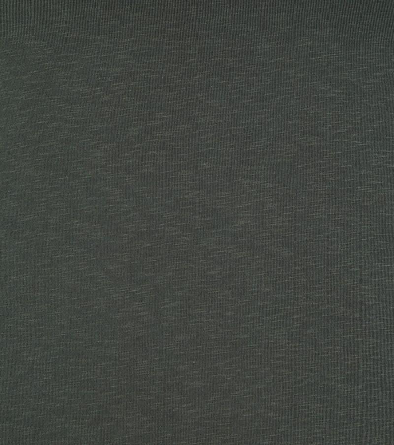 Suitable Respect Trui Jerry Donkergroen - Groen maat 3XL