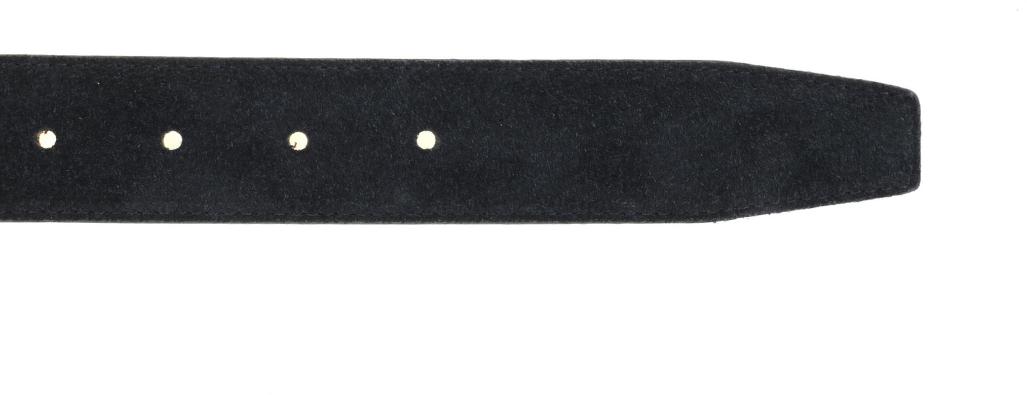 Detail Suitable Riem Suede Navy 309