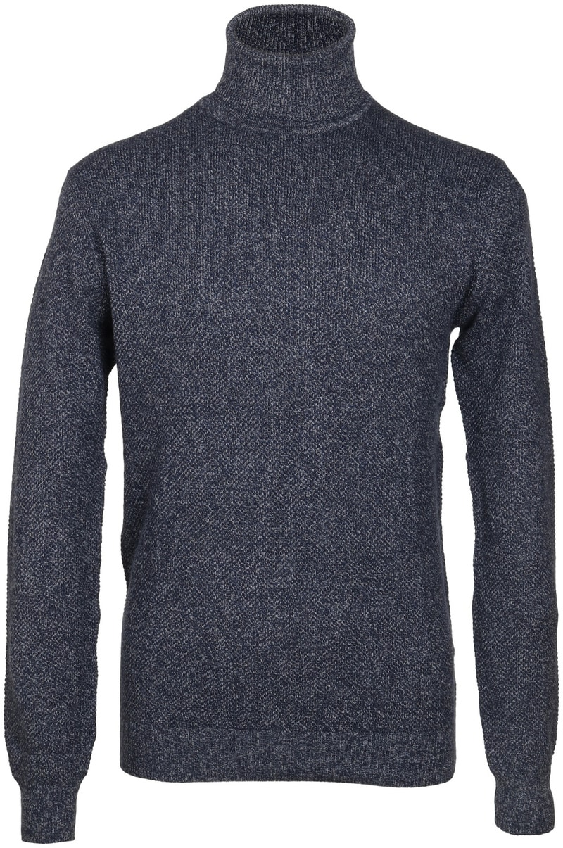 Suitable Rollkragenpullover Baumwolle Blau  online kaufen | Suitable