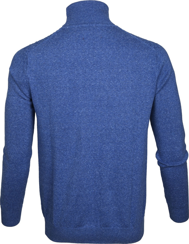 Suitable Rollkragenpullover Diamant Blau Foto 3