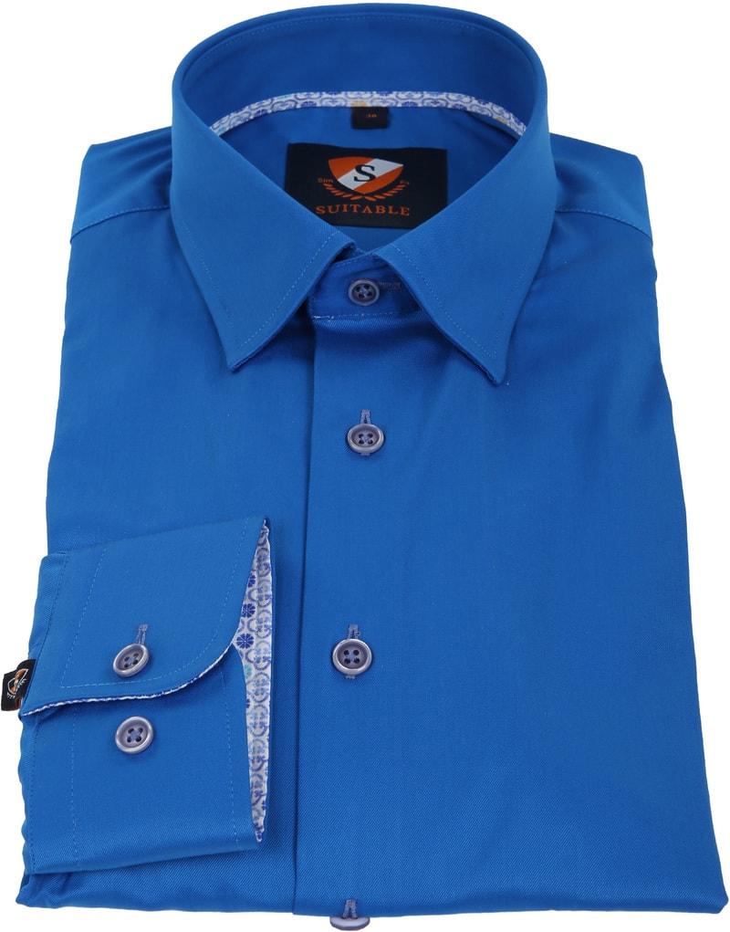 Suitable Shirt Cobalt 181-3 photo 3