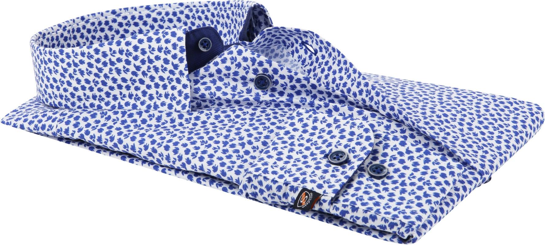 Suitable Shirt HBD Leaf Royal Blue photo 2
